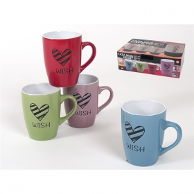 Taza mug Heart 350 ml.
