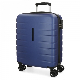 Trolley 55cm turbo azul movom