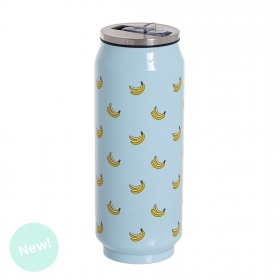 Termo lata Bananas 390ml