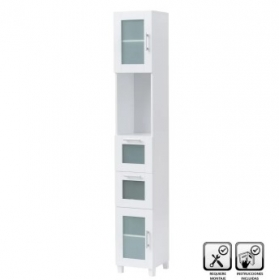 Mueble columna color blanco...