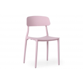 Silla Carla en color rosa