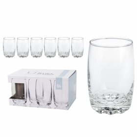 Set 6 vasos Lima medio 25cl