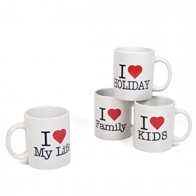 Taza mug 33cl I Love