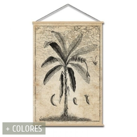 Panel vintage tropical