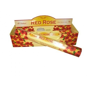 20 STICKS INCIENSO RED ROSE