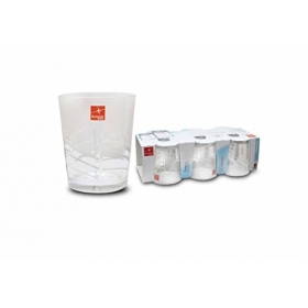 Set 6 vasos agua Ducal