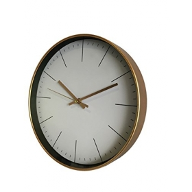 Reloj de Pared en Color Bronce