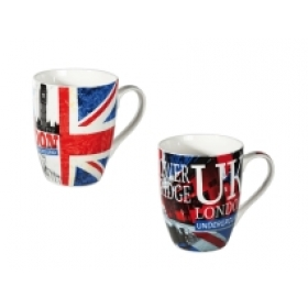 Taza de porcelana London...