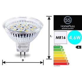 Lámpara 18 LED Dicroica MR16