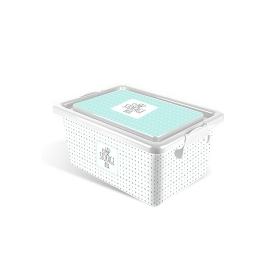 Multibox 7,5 l estampado azul