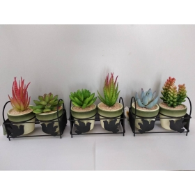 Set 2 plantas artificiales