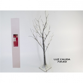 ARBOL 1,5 M 72 LED EXT/CALIDA